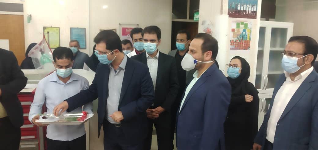 بازدید ریاست محترم دانشکده علوم پزشکی لارستان از بیمارستان نبی اکرم (ص)خنج